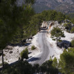 Mountain road in Turkey — Stock Photo #63105193