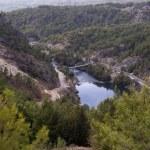 Mountain road in Turkey — Stock Photo #63105201