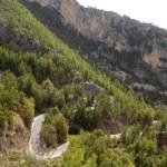 Mountain road in Turkey — Stock Photo #63105227