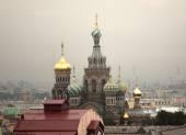 St. Petersburg. Vista de la ciudad desde el punto superior. Rusia. — Foto de Stock