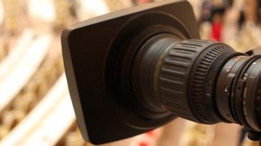 TV camera — Stock Video