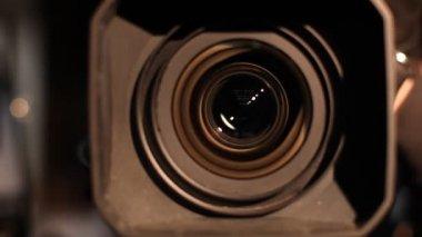 Camera zoom. — Stock Video