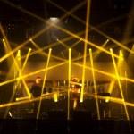 Light striking a rock concert — Stock Photo #77617920