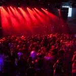 Light striking a rock concert — Stock Photo #77618116