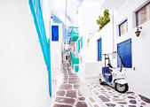 Street in Mykonos, Greece. — Foto de Stock