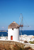 Windmill of Mykonos, Greece. — Stockfoto
