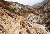 Hiking Path to Mount Zas in Naxos Island, Greece. — Stockfoto