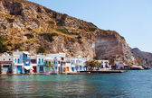 Village of Klima. Milos Island, Greece. — Stockfoto