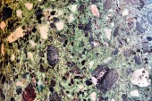 Texture of old green wall — Fotografia Stock