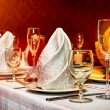 Restaurant set — Stockfoto #57984939