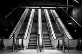 Modern metro interior — Stock Photo