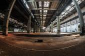 Dark industrial interior — ストック写真