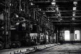 産業用建物内部 — ストック写真