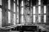 Opuštěné průmyslové interiér — Stock fotografie