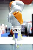 Průmyslový robot arm — Stock fotografie