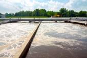 Water cleaning facility — Stock Photo