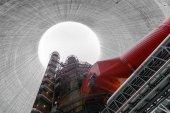 Thermal power plant interior — Stock Photo
