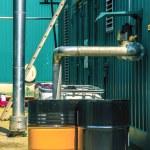 Industrial liquid tanks — Stock Photo #60757035