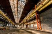 Elektriciteit distributie hall in metaal industrie — Stockfoto