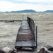 Storm over the lake — Stock Photo #62922231