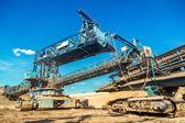Madendeki madencilik makine — Stok fotoğraf