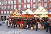 рынок рождество в мадриде — Стоковое фото