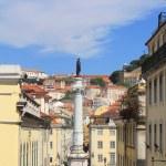 Rossio Square in Lisbon — Stock Photo #54571471