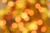 Christmas lights bokeh — Stock Photo