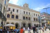 Rossio Station in Lisbon — Stock Photo