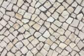 Limestone cobble texture — Stock Photo