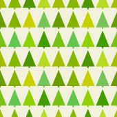 圣诞树木图案 — 图库矢量图片