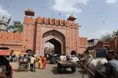 City Gate of Jaipur in India — Stock Photo