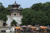 O palácio de verão de pequim, na china — Fotografia Stock