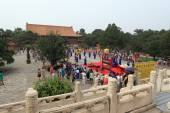 The Ceremony of the Ming Grave from the Emporer Yongle — Foto de Stock