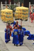 The Ceremony of the Ming Grave from the Emporer Yongle — Stock Photo