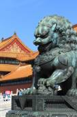Chinese Lion — Stock Photo