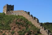 The Great Wall of China close to Jinshanling — Stock Photo