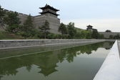 The City Wall of Datong in China — Foto Stock