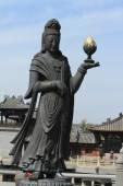 La estatua de Buda de Yungang en China — Foto de Stock
