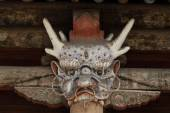 Historic Mask of the Yungang Monastery in Datong China — Stock fotografie