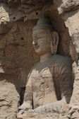 The Buddha Statue of Yungang in China — Stock Photo