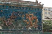 Стена 9 драконов в Датун в Китае — Стоковое фото