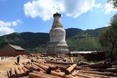 The big Stupa of Wutai Shan in China — Stock Photo