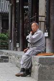 Buddhism Monk in China — Photo