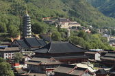 The Temples of Wutai Shan in China — Stock fotografie