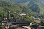 Çin Wutai Shan tapınak — Stok fotoğraf