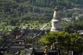 The big Stupa of Wutai Shan in China — 图库照片