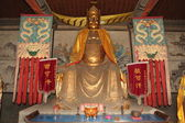Çin'deki Zhangbi Cun Tapınağı heykelleri — Stok fotoğraf