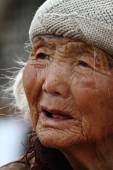 An Very Old Woman from China — 图库照片