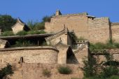 The Farm Village of Lijiashan in China — Stock Photo